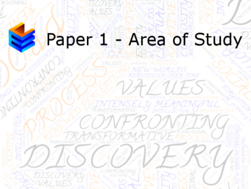 Discovery Past Papers - Download Here!